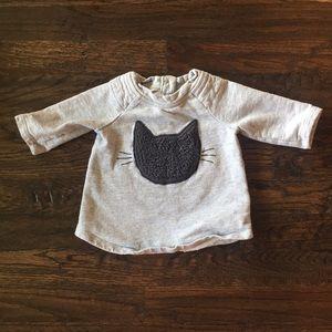 Baby Gap Kitty Cat Sweatshirt